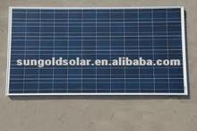 135W/18v poly solar panels for 12v battery