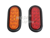 6 inch Oval LED Tail Light, Stop/Turn/Tail led trailer light