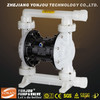 Pneumatic Double Air Operated Micro Air Diaphragm Pump, Air Pump in Cast Iron, Aluminum, Stainless Steel, Plastic, Teflon