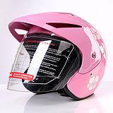 Viso aperto casco, mezzo casco. Casco del motociclo