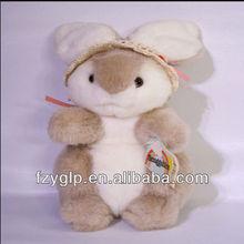 Easter bunny rabbit plush toy custom bunny toy