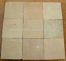 22 mm Sandstone Paving slabs Raj Green Sandstone