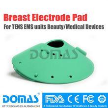 Du sein électrode pad pour des dizaines unité/machine thérapie sm114 électrodes autocollantes tampons