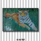 JY-JH-TI07 Premium mosaics tile Bengal tiger wall painting wall mural artist