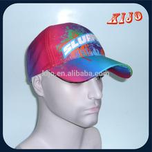 Wholesale blue Cotton Printed man hat