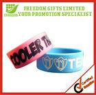 Customized Logo Custom Silicone Rubber Wristband