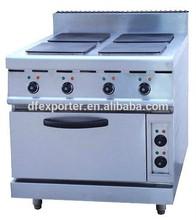 electric range with 4-burner&oven