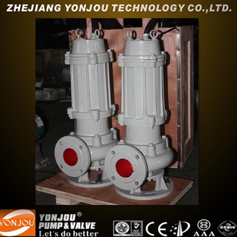 Vertical Non-clogging Sewage Electric Centrifugal Submersible Pump, Electric Submersible Pump, Submersible Pump