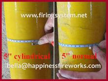 """Special for shells fireworks, 5"""" display fireworks fiberglass tube, best seller"""