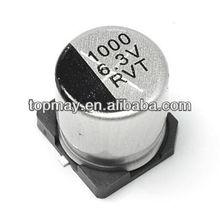 Standard 100uf SMD Aluminum Electrolytic Capacitor