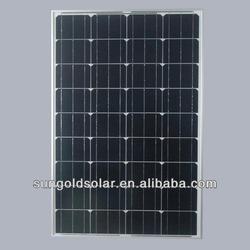 120w monocrystalline solar panel with high efficiency