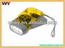Hand Crank LED Flashlight