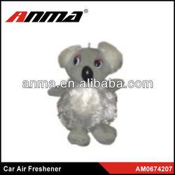 Nice anima cartoon shape car paper air freshener car perfume for air conditioner