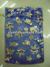popular hot stamping organza bags