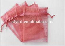 promotion drawstring organza gift bags