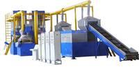 JZ-DZ2000 waste motor stators recycling production line