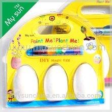Kids planter ,Magic egg,DIY egg painting
