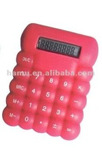 Red Mini 8-digital Electronic Calculator