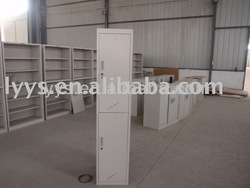 2012 hot selling new design double door locker