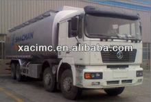 40cbm SHACMAN D'Long 8*4 fuel tank truck