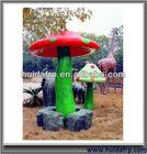 Glassfiber Garden Decoration -- Mushroom