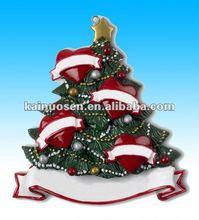 Handmade resin christmas trees , resin christmas ornament , polyresin christmas gift