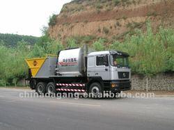 chip sealer for highway construction