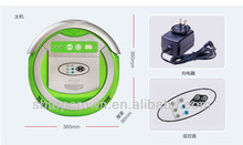 ABS Fireproof Material intelligent robotic vacuum cleaners, lower noise dust measuring equipment with UV light