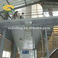 torre de pulverização e secagem