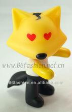 custom plastic toy figure,3d pvc vinyl toy,oem pvc cartoon action figure