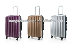 hard shell pc and abd travel luggage /travel bag/travel suitcase set