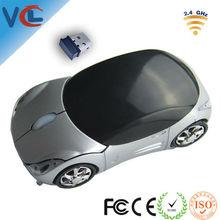 CE standard optical 2.4ghz 3d usb ferrari car wireless mouse from shenzhen factory