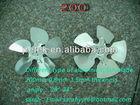 Different type of aluminium fan blade for motors