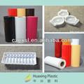 rolos de folha de plástico branco made in china
