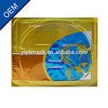 24k ouro nutrição anti- rugas& moisturing crystal colágeno máscara facial