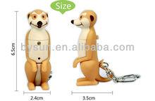 Meerkat beaver LED promotion gift