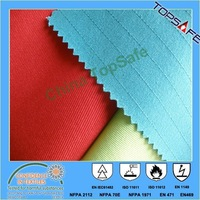 EN1149 antistatic coolplus/cotton fabirc 150gsm for ESD workwear and coverall