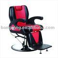 Novo produto de beleza cadeira de barbeiro com bomba hidráulica cadeira do salão de beleza cadeira de pedicure bx-2680a cromado base