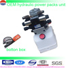 AC DC 3HP 2HP 24v 12v DC power packs unit car trailer lift power unit