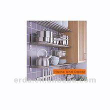 Metal Iron Kitchen Pegboard Wall Pot rack