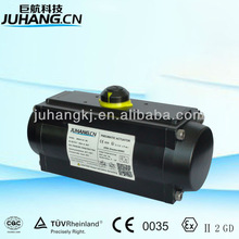 AT series pneumatic actuator in stainless steel and aluminum alloy material
