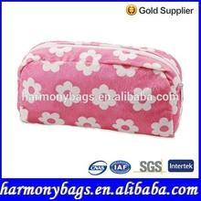 beautiful flower promotional makeup case pouch