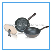 HQ-T01 2012 hottest Die-Casting Aluminum pan