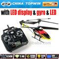 2.4 G LCD de control remoto doble lámina del helicóptero [ REH57S32 ] rc helicóptero de la escala