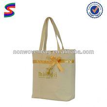Heavy Duty Cotton Canvas Shopping Tote Bag Stock Canvas Bag