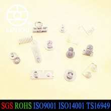 electric electronic contact spring/battery contact/spring assembly