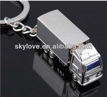 fashion cool metal zinc alloy car shape keychains
