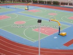 Acrylic acid indoor basketball court,indoor basketball floor price