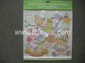 Capa dura do livro de etiqueta/adesivo removível livros