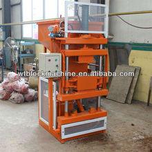 WT1-10 interlocking clay brick machine factory